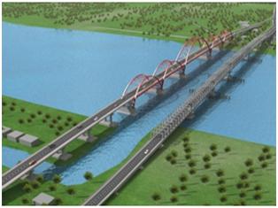 November, Jembatan Musi IV Sudah Bisa Dilalui Kendaraan