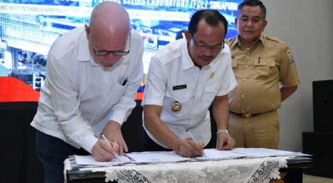 Palembang Terpilih Dapatkan Aplikasi  Future Cities Laboratory (FCL) Singapura.