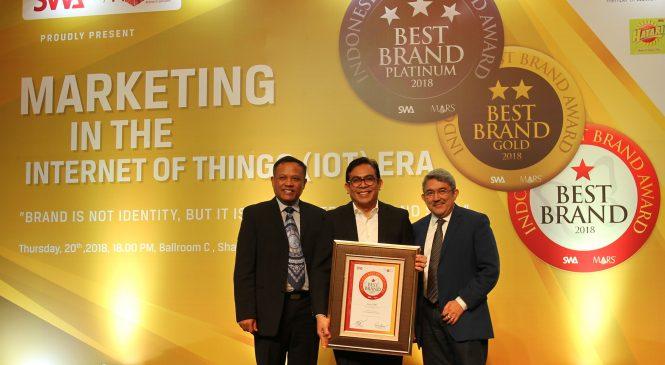 Auto2000 Raih Best Brand Award Kategori Diler Resmi