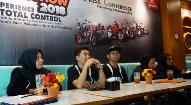 Honda Sport Motoshow Kembali Hadirkan Produk Sport Berkelas