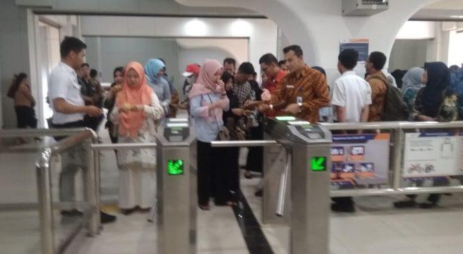 Ayo Naik !! Tiket LRT Sumsel Terintegrasi dengan Trans Musi dan Damri