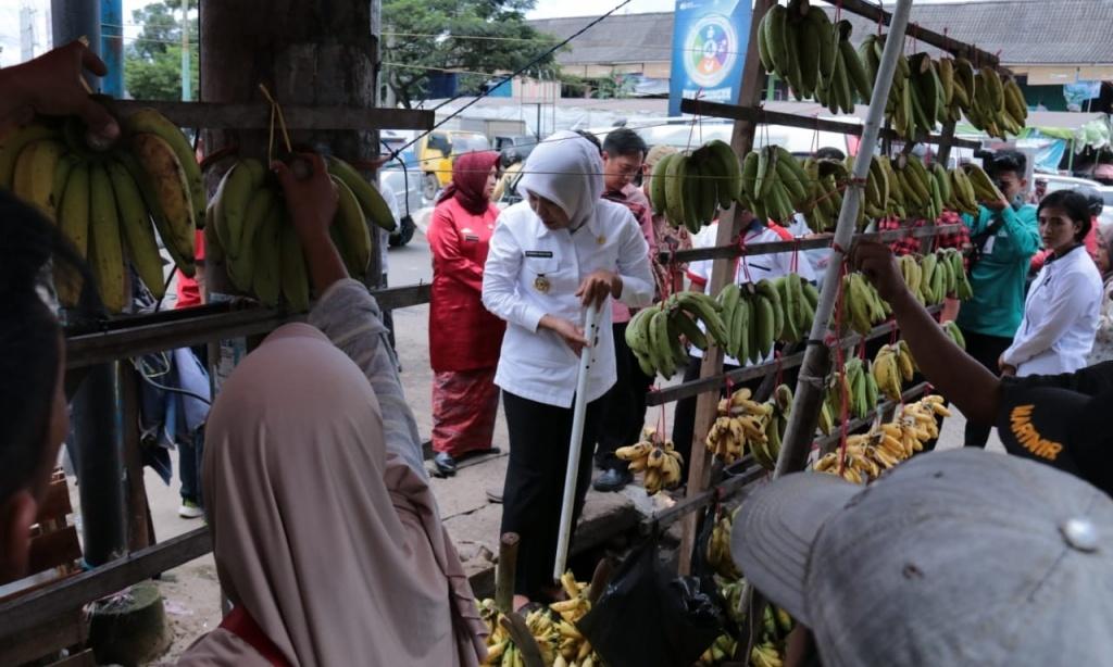 Pemkot Akan akan Renovasi Saluran Air Pasar Lemabang