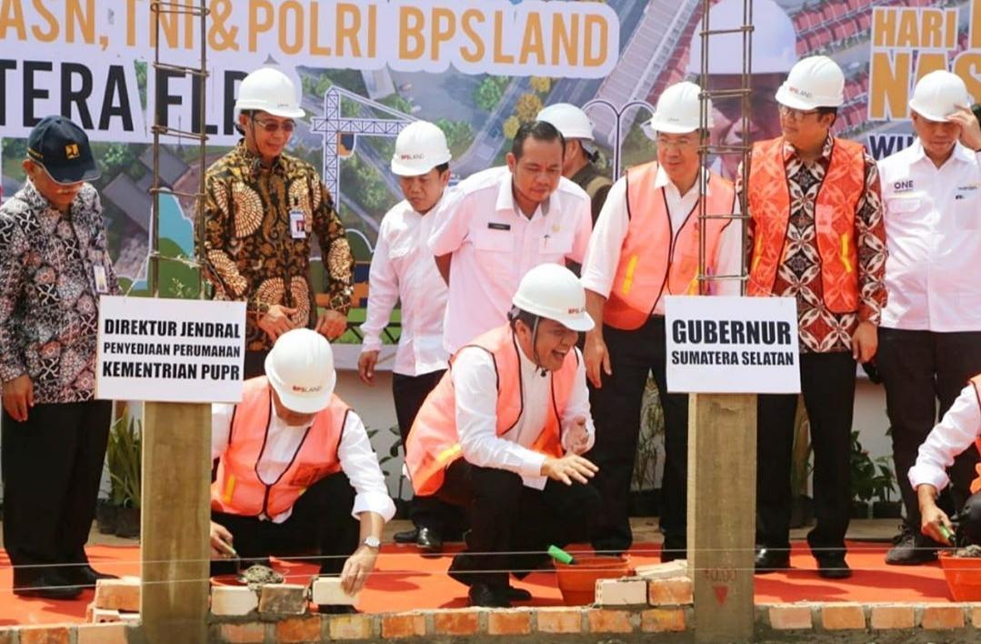 Perumahan FLPP untuk ASN, TNI, dan Polri Diresmikan