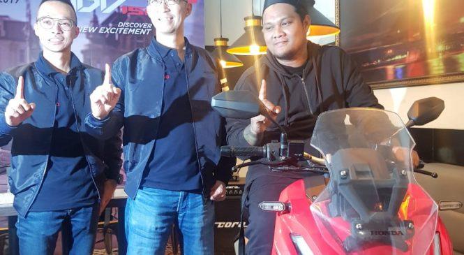 Virgoun Kenalkan Honda Genio dan ADV 150 di Palembang
