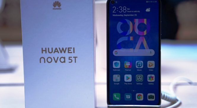 Huawei Nova 5T, Beri Keleluasaan Bermain Game