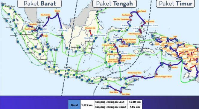 514 Kabupaten/Kota di Indonesia Tersambung Internet Kecepatan Tinggi
