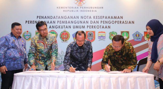 Palembang jadi Pilot Project program BTS dan BRT Kemenhub
