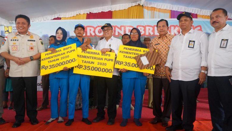 Rumah Berbasis Komunitas di Prabumulih Resmi Groundbreaking