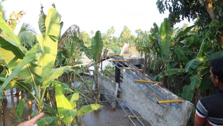 Pemprov Sumsel Pastikan Bangun Lagi Jembatan Putus di Oku Timur