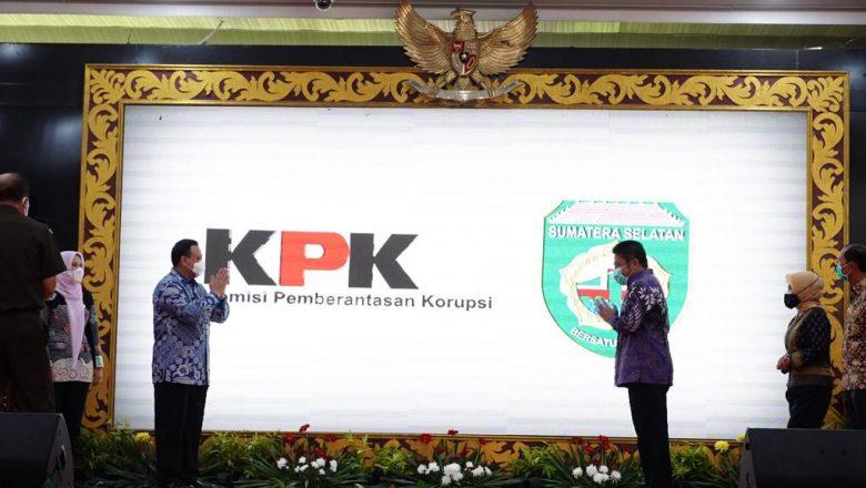 Sumsel Gandeng Gandeng Pimpinan KPK Selamatkan Aset Negara