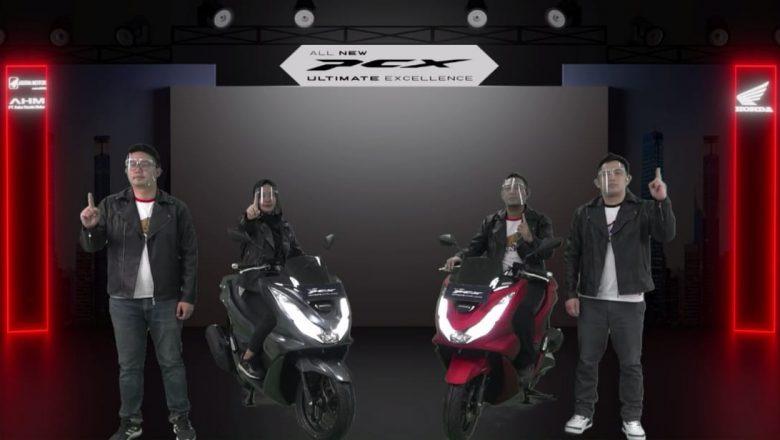 All New Honda PCX 160 Siap Mengaspal di Sumsel