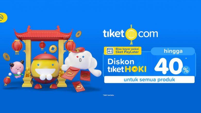 Jelajah Imlek Hoki di Berbagai Kota Versi Tiket.com