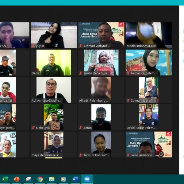 Honda Sumsel Gelar Journalist Gathering Virtual