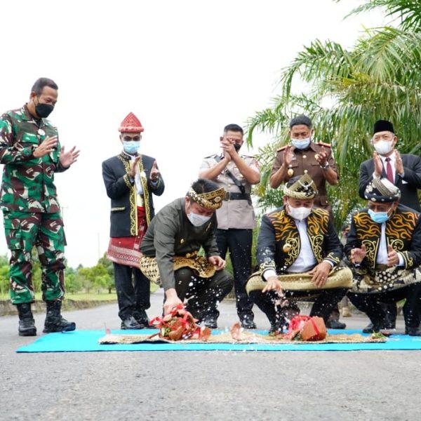 HD Targetkan Jembatan Rantau Bayur Kelar 2021