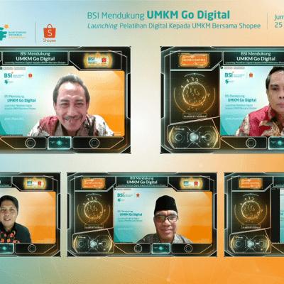 Hari UMKM Internasional, BSI & Shopee Gelar Pelatihan Go Digital