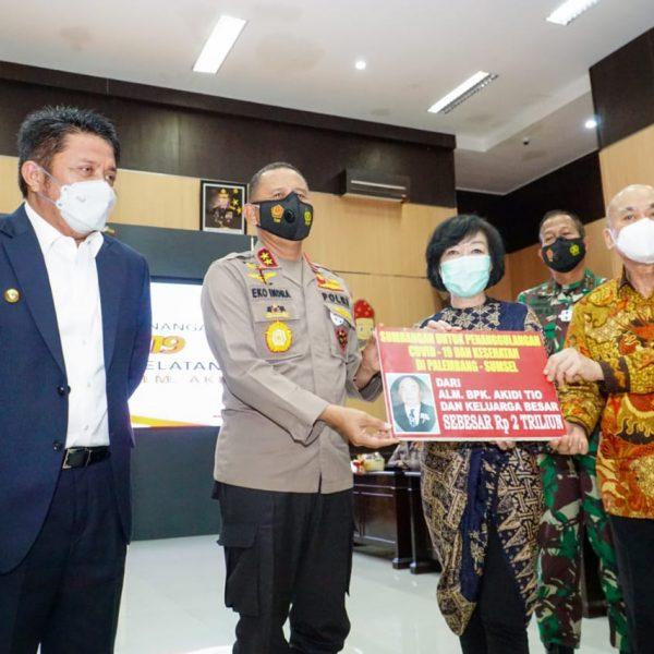 Fantastis, Keluarga Pengusaha Bantu Rp 2 Triliun untuk Penanganan Covid di Sumsel