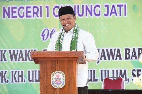 SMK Negeri 1 Gunung Jati Resmi Jadi SMK Membangun Desa