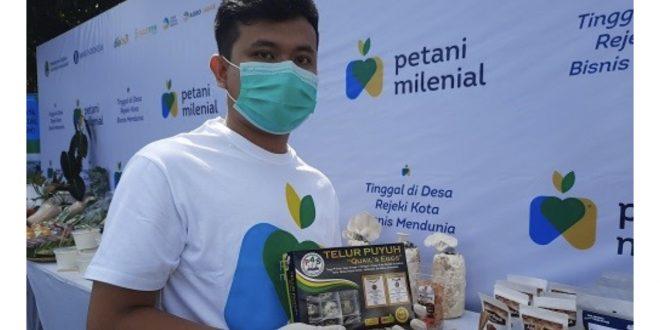 Brainy Brilliant: Petani Milenial asal Cikembar Sukabumi Siap Kembangkan Peternakan Puyuh